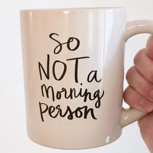Designs Direct White Coffee Mug ☕